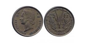 25 Francs Afrique Occidentale Française