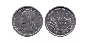 1 Franc Afrique Occidentale Française - Union Française