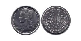 2 Francs Afrique Occidentale Française - Union Française
