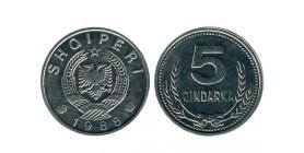 5 Quindars Albanie