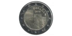 2 Euros Commémoratives Espagne 2019