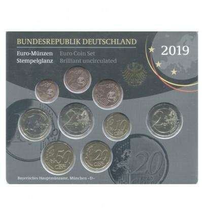 Séries B.U. Allemagne 2019
