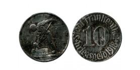 10 Pfennig Frankenthal Allemagne