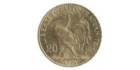 20 Francs Marianne / Coq Dieu Protège la France