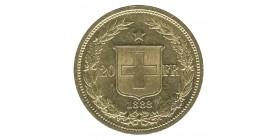 20 Francs - Suisse Helvetia