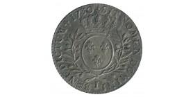 1/2 Ecu aux Lauriers - Louis XV