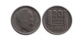 20 Francs Algérie