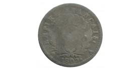 1/2 Franc Napoléon Ier Tête Laurée Revers Empire