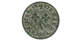 Denier Tournois - Louis XIV