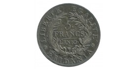 5 Francs Gaule Subalpine - Italie Piémont