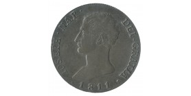 20 Reales Joseph Napoléon - Espagne Argent