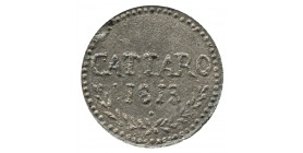 1 Franc - Monténegro Cattaro Occupation Française