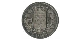 1 Franc  - Charles X
