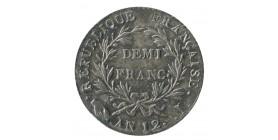 1/2 Franc Napoléon Empereur