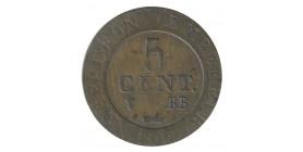 5 Centimes Napoléon Ier