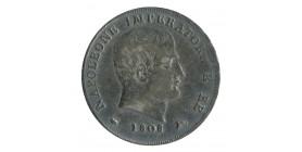 15 Soldi Napoléon Imperator - Italie Occupation Française Argent