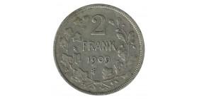 2 Francs Leopold II - Belgique Argent