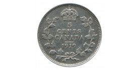 5 Cents Georges V - Canada Argent