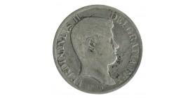 120 Grana Ferdinand II - Italie Naples Sicile Argent