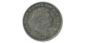 25 Centimes Charles Felix - Italie Sardaigne Argent