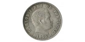 500 Reis Charles I - Portugal Argent