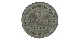 1/2 Batzen - Suisse République Hélvetique