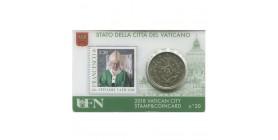Coincard Timbre Vatican 2018 - N°20