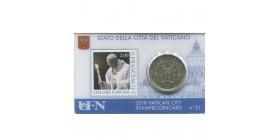 Coincard Timbre Vatican 2018 - N°21