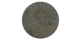 1 Quarto - Espagne Barcelone