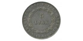 5 Lires - Italie République de Venise Argent
