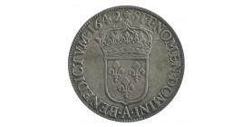 60 Sols 1er Poinçon de Warin Louis XIII