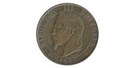 5 Centimes Napoléon III Tête Laurée