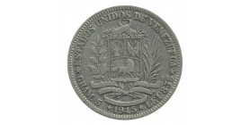 1 Bolivar - Vénézuela Argent