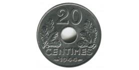 20 Centimes Lindauer Type Fer