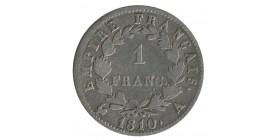 1 Franc Napoléon Ier Tête Laurée Revers Empire