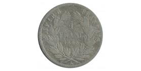1 Franc Napoléon III Tête Nue
