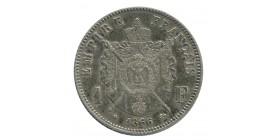 1 Franc Napoléon III Tête Laurée