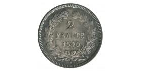 2 Francs Louis-Philippe Ier Tête Laurée