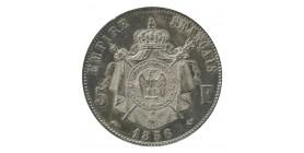 5 francs Napoléon III Tête Nue