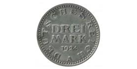 3 Marks - Allemagne Argent
