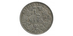 1/2 Mark - Allemagne Argent