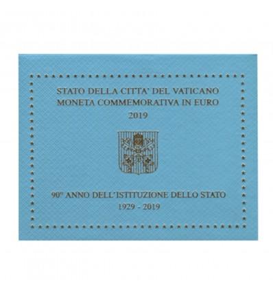 2 Euros Commémorative Vatican 2019