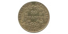 20 Francs Napoléon Empereur