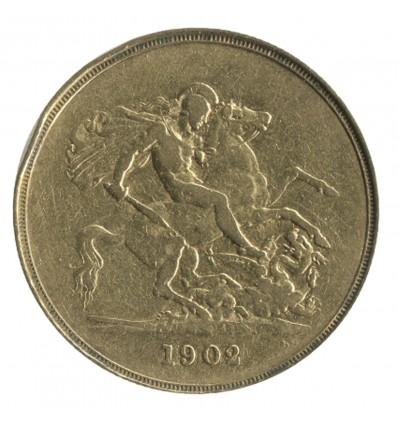 5 Livres Edouard VII - Grande Bretagne