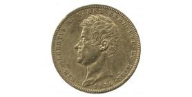 100 Lires Charles Albert - Italie Sardaigne