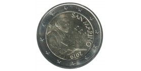 2 Euros Commemoratives St Marin 2019