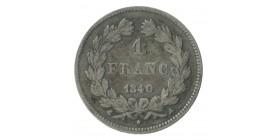 1 Franc Louis-Philippe Ier Tête Laurée