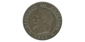 1 Centime Napoléon III Tête Laurée
