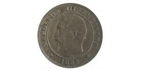 2 Centimes Napoléon III Tête Nue
