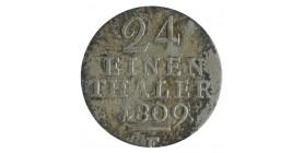 1/24 Thaler - Allemagne Wesphalie Argent